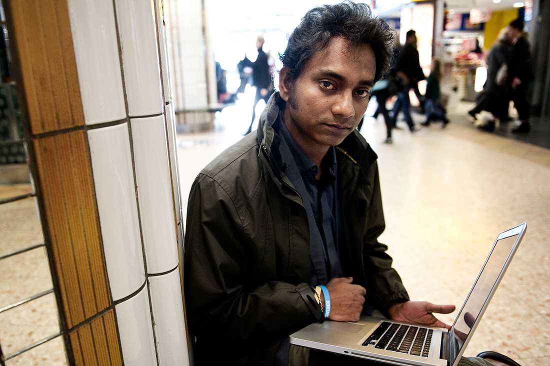 Ahmed Nadir kan inte åka till Bangladesh.