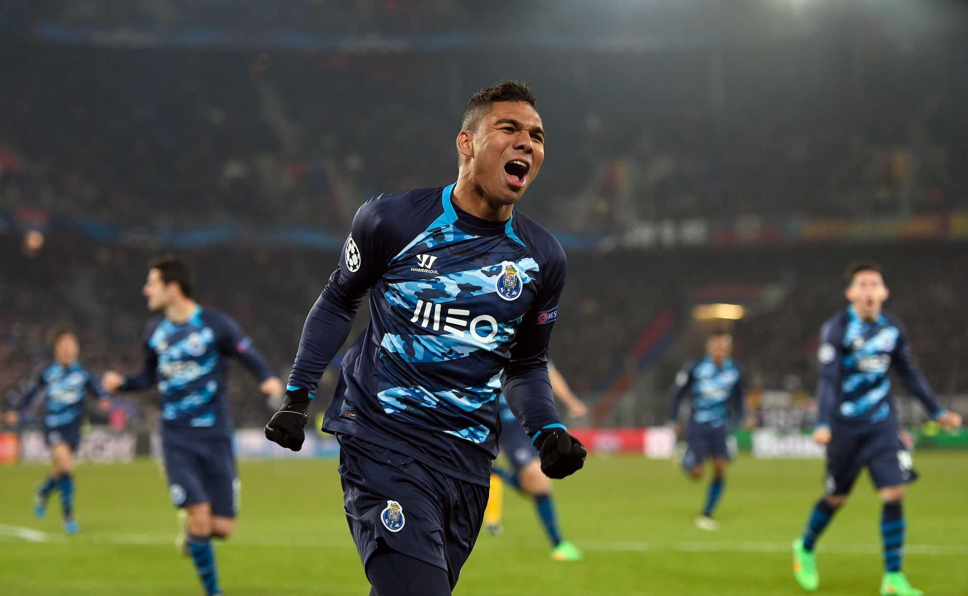 Portos brasse Casemiro kvitterade.