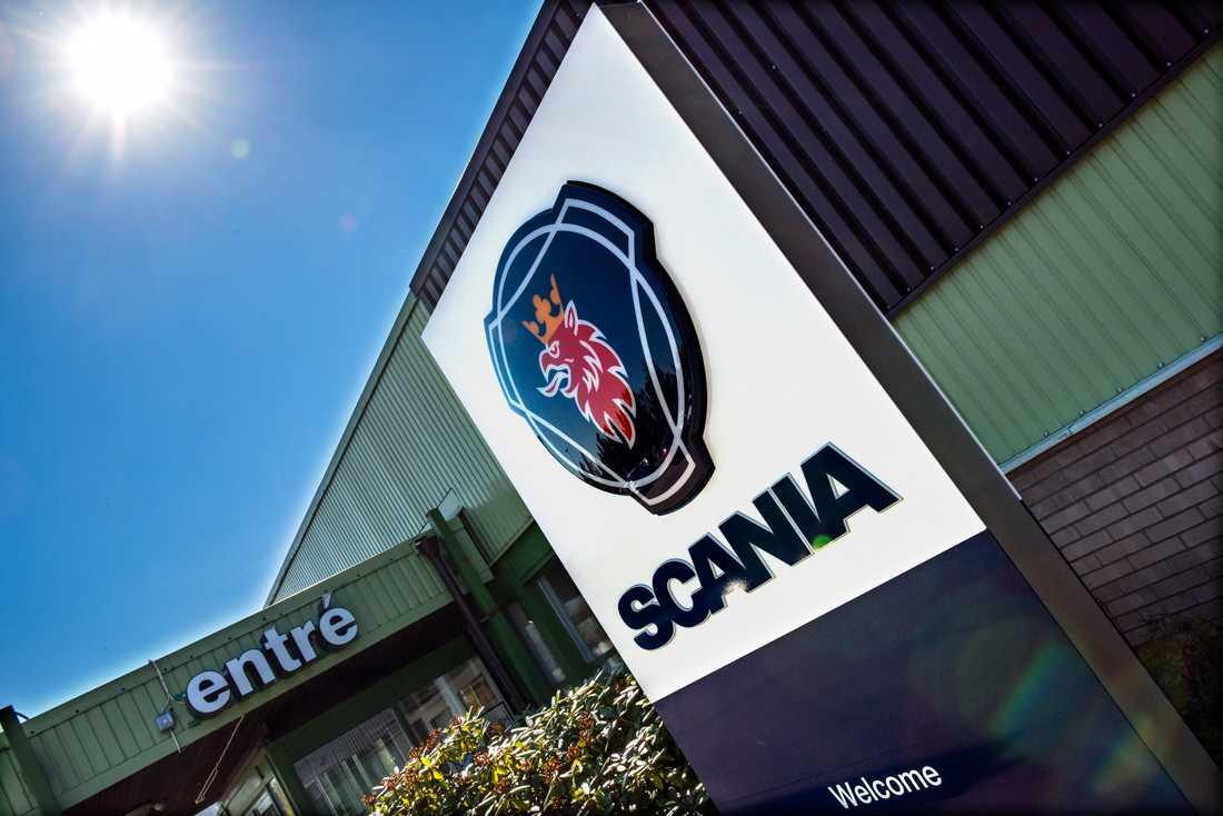 Scania har inte kunnat hitta något fel på den skenande lastbilen. Arkivbild.