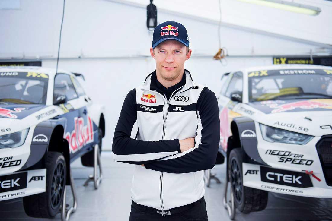 Mattias Ekström.