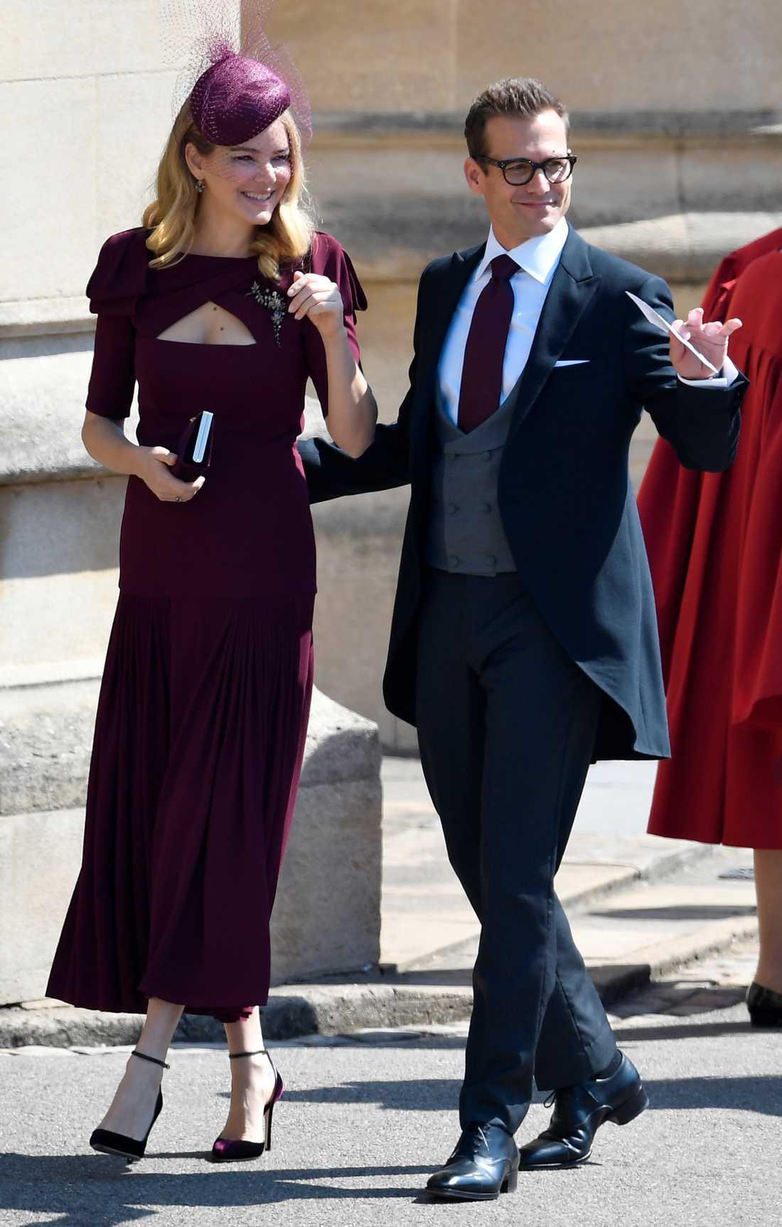 Suits- skådespelaren Gabriel Macht tillsammans med sin fru Jacinda Barrett.
