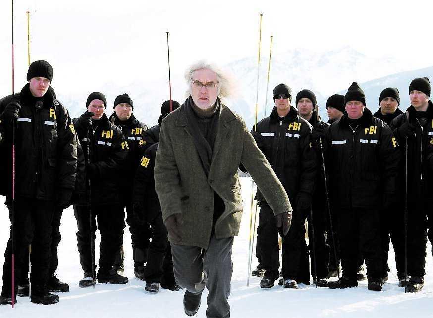 "Joseph Crissman, spelad av Billy Connolly, leder FBI-agenterna till en viktig upptäckt i ""The X-Files: I want to believe""."