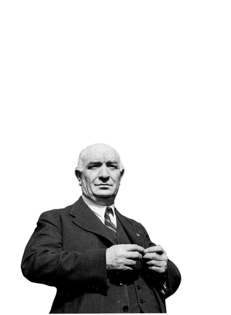 Per Albin Hansson - en rakryggad politiker.