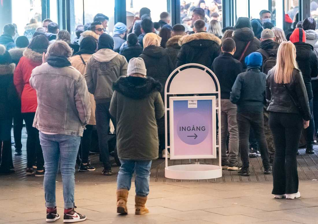 Kö på Black Friday
