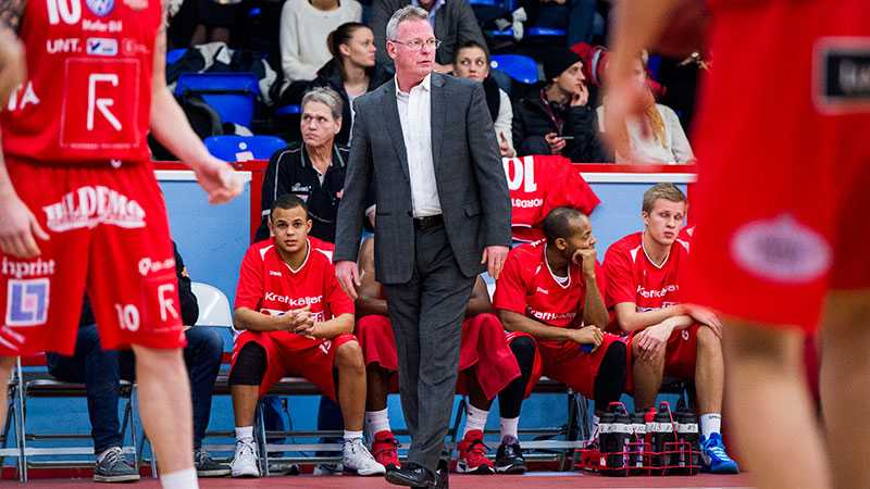 Uppsalas coach Kelly Grant.