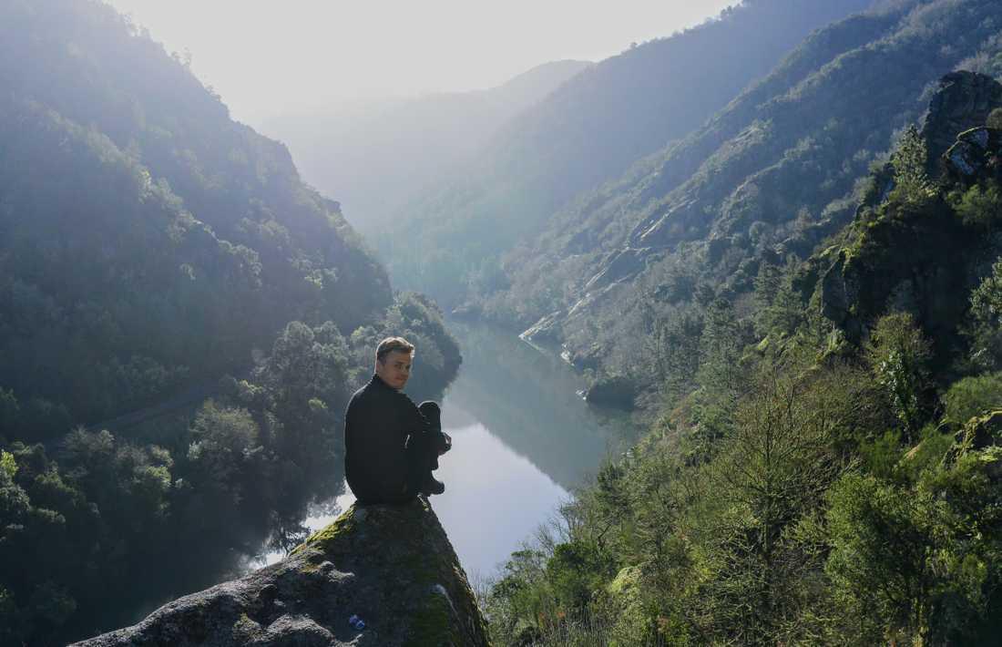 Norra Spanien överraskade, bland annat nationalparken Cañon del sil.