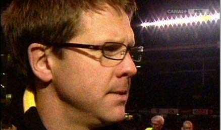 """""""Det är tungt"""" AIK:s Rikard Norling hade svårt att hålla tillbaka tårarna."""