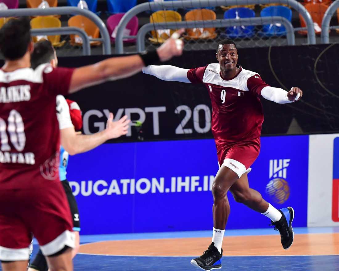 Qatars Rafael Capote är en av spelarna som Sveriges förbundskapten Glenn Solberg varnar för inför kvartsfinalen i handbolls-VM.