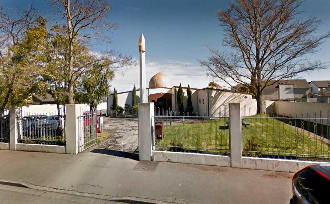 Masjid Al Noor Mosken i Christchurch, Nya Zeeland