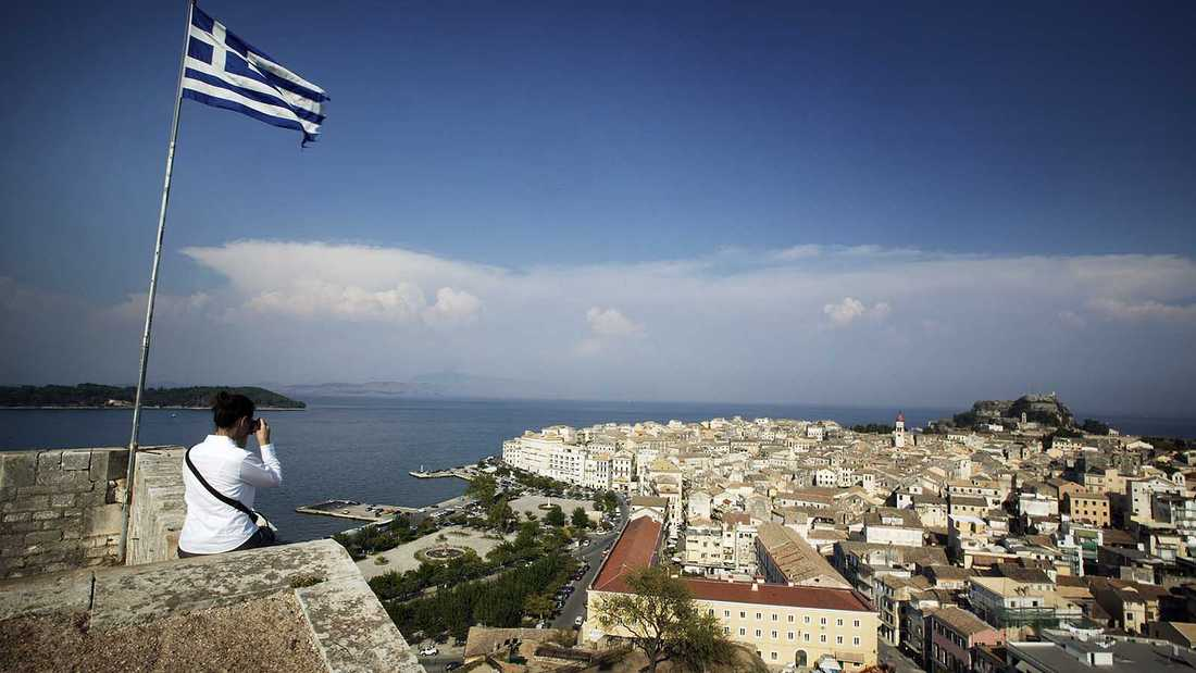 """Inspelningen av """"Love island"""" sker på den grekiska ön Korfu."""