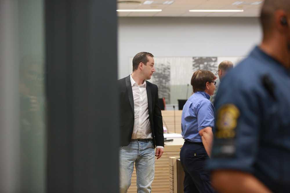 Nu startar rättegången mot nazisten Andreas Carlsson, 33 år.