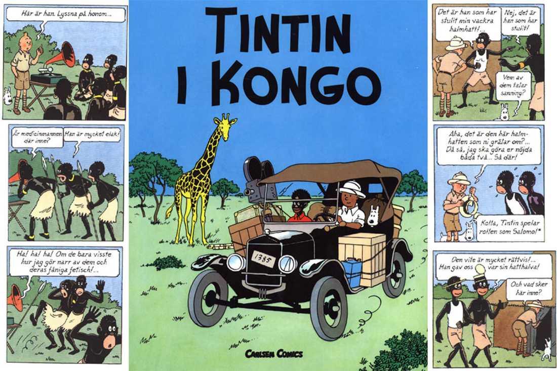Tintin i Kongo.