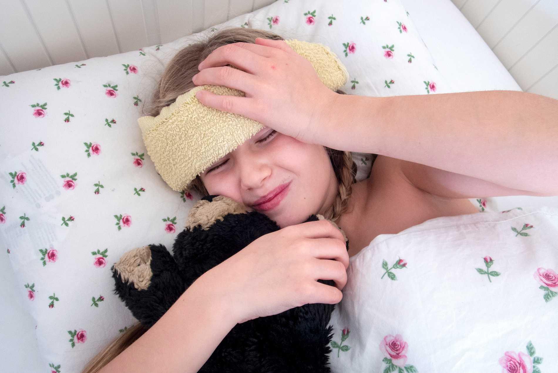 Influensa: Så gör du om ditt barn drabbats.