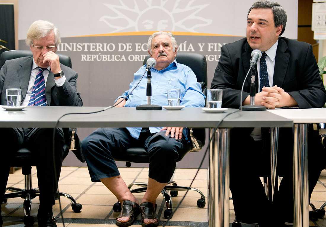 Yrke: President President Mujica verkar inte bry sig nämnvärt om kritiken.