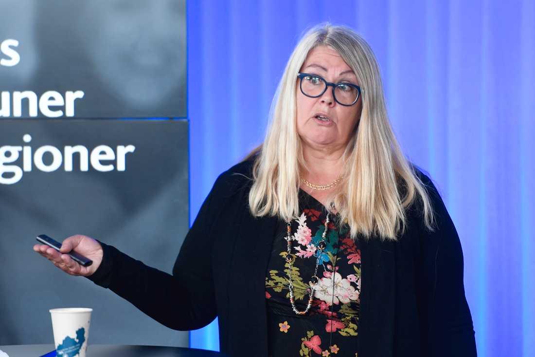 Enligt SKR:s chefsekonom Annika Wallenskog måste staten skjuta till mer pengar för att skattehöjningar ska undvikas. Arkivbild.