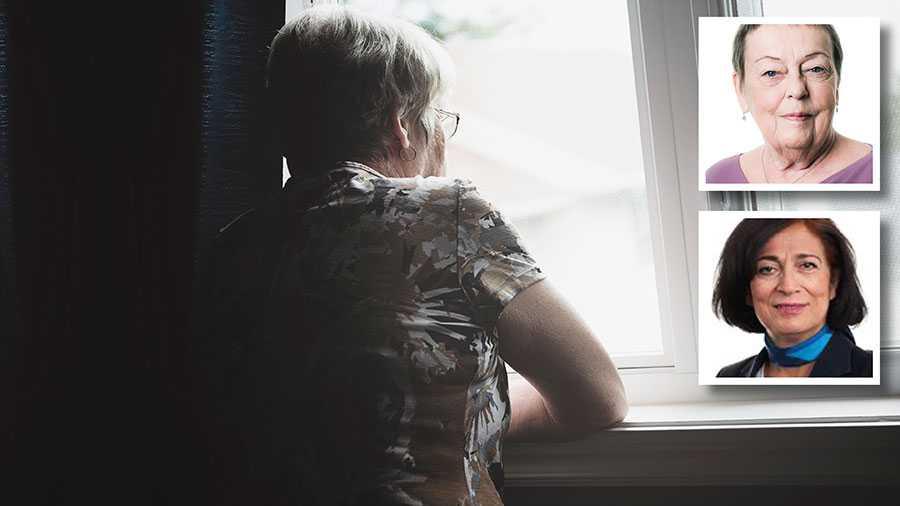 Viruset dödar – men det gör ensamhet också. Allt fler äldre ringer larmnumret 112 bara för att få prata med en annan människa. Det är hjärtskärande, skriver Christina Tallberg och Maria Khorsand.