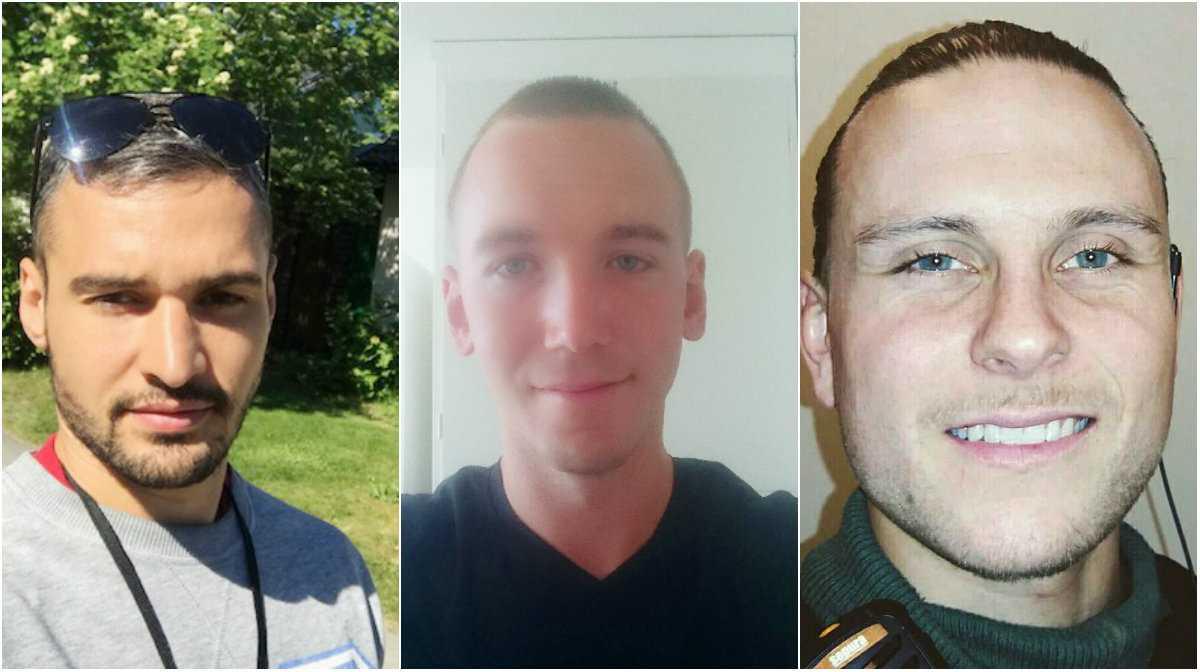 Ingmar Wickberg, Alexander Grahn och Viktor Hasselgren gjorde en livsavgörande insats.