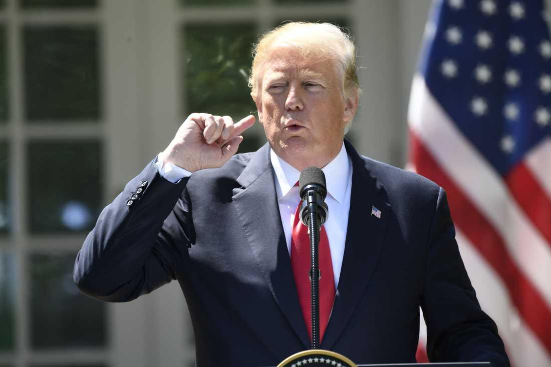 Mötet med Trump kan stoppas.