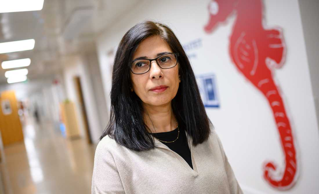 Rozita Torkpoor, vårdutvecklare vid Migrationsskolan i Region Skåne och doktorand vid Lunds universitet.