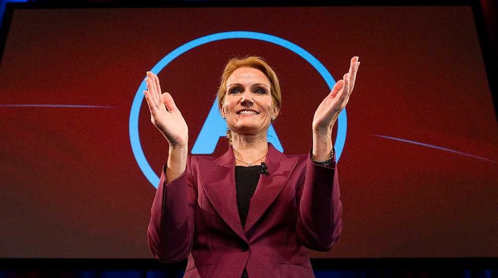 Makten i sina händer Helle Thorning-Schmidts socialdemokrater samlade bara en fjärdedel av rösterna, men ändå kommer Thorning–Schmidt att utses till statsminister.