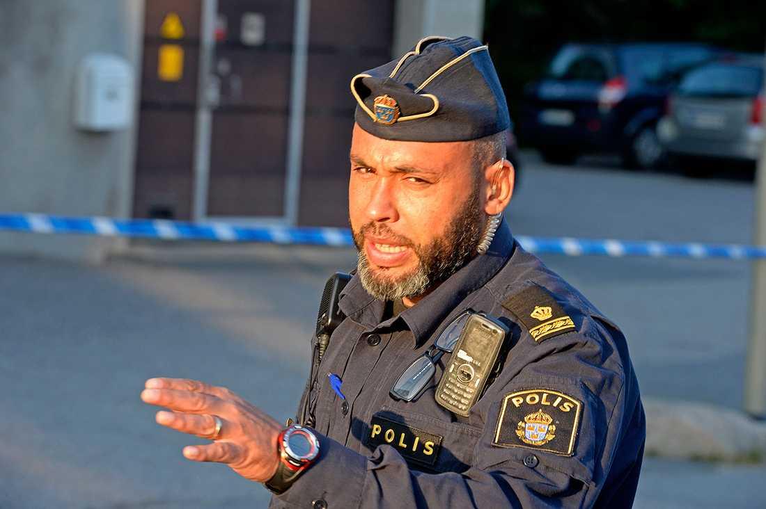 Polis i Axelsberg.