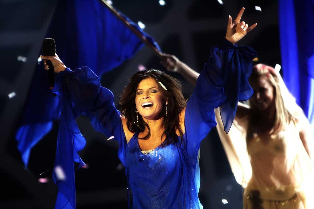 """Carola Häggkvist vann Melodifestivalen 2006 med """"Evighet"""". Hon dementerar nu att hon ska vara med igen nästa år."""