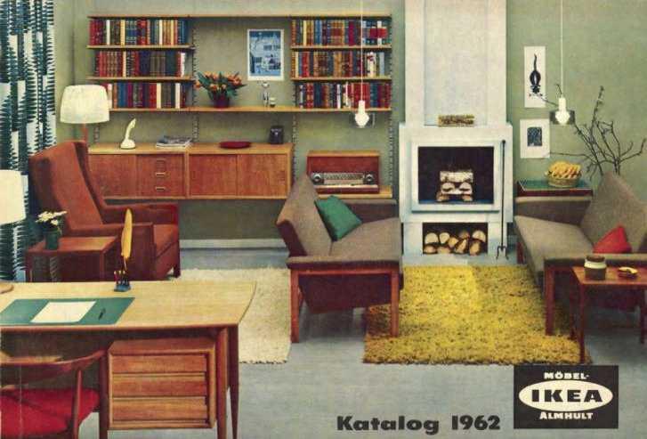 Ikeakatalogen från 1962.
