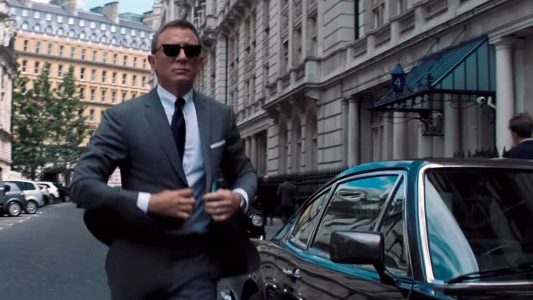 "Daniel Craig i ""No time to die""."