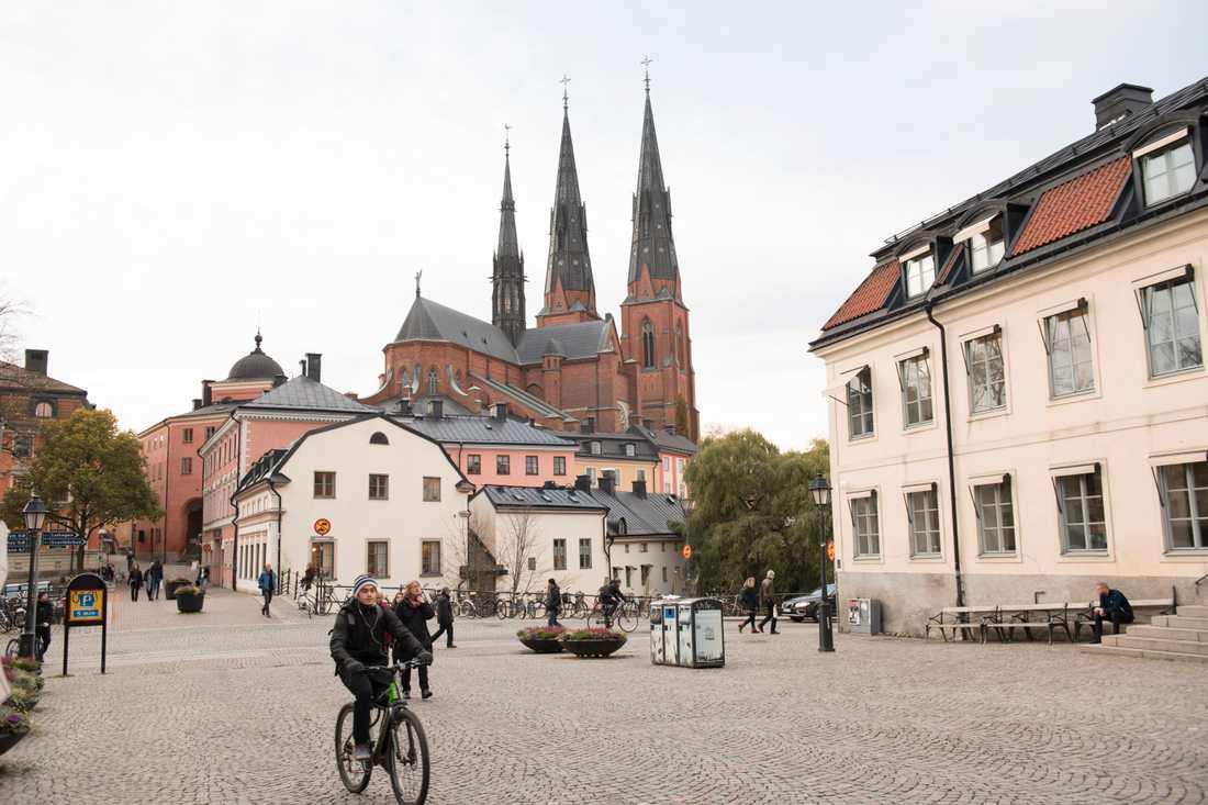 NMR ställer nu in sin planerade demonstration i Uppsala den 1 maj. Arkivbild.