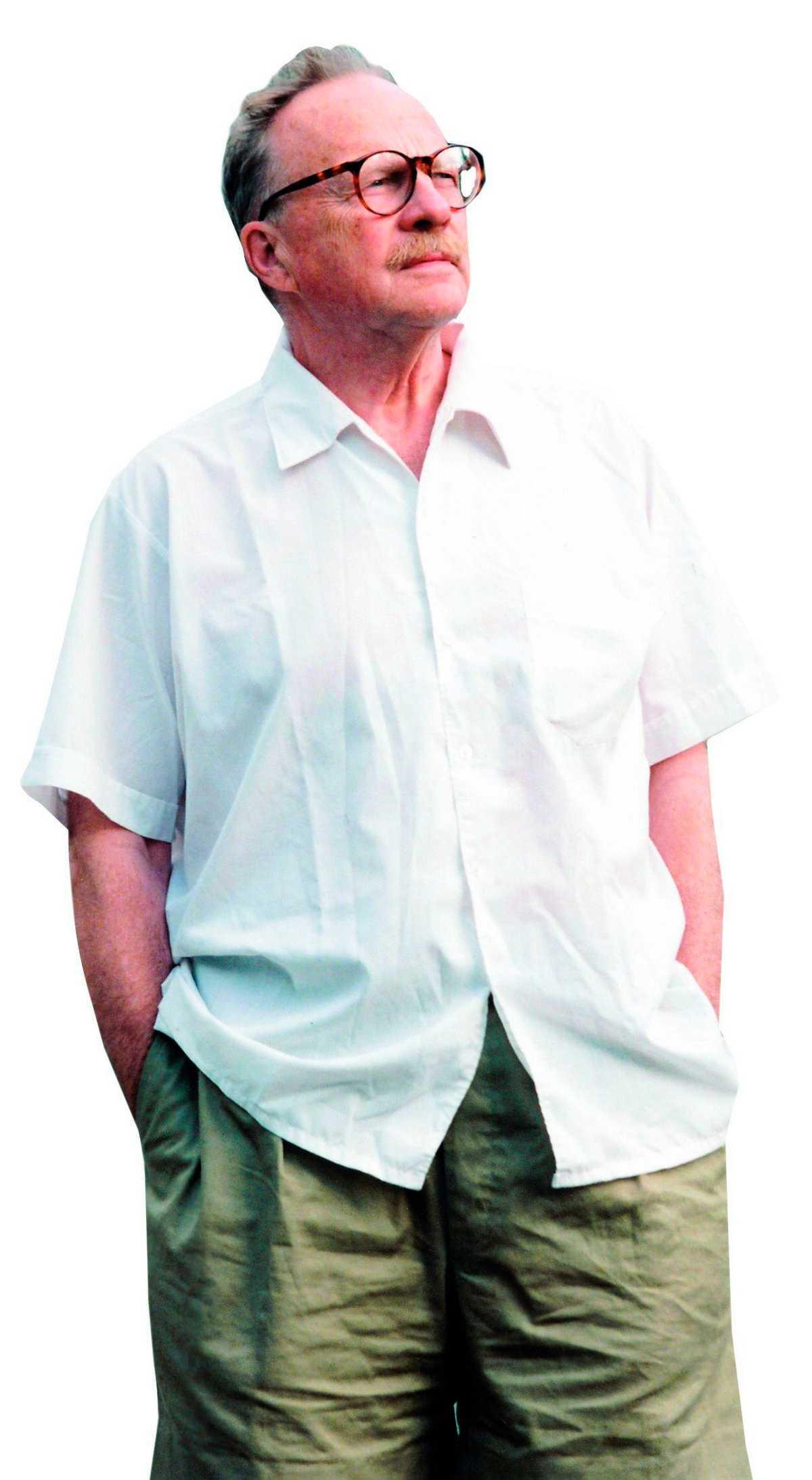 Jan Myrdal ömmar för lillcittran.