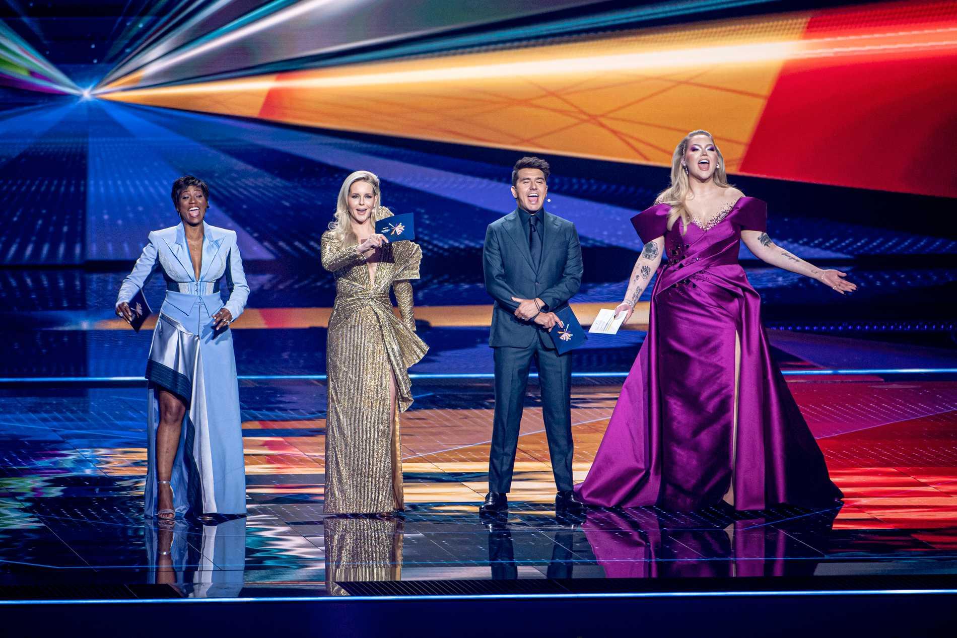 Nikkie de Jager en av fyra programledare i årets Eurovision.