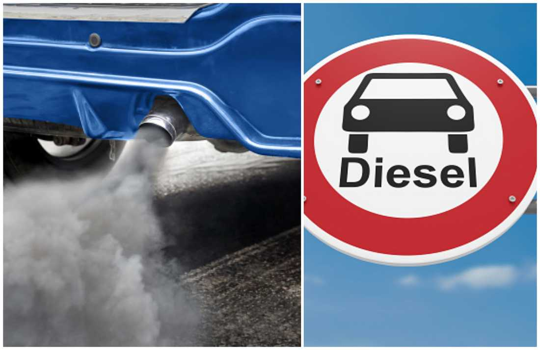 Dieselbilar fortsätter att sjunka i antalet registrerade personbilar.