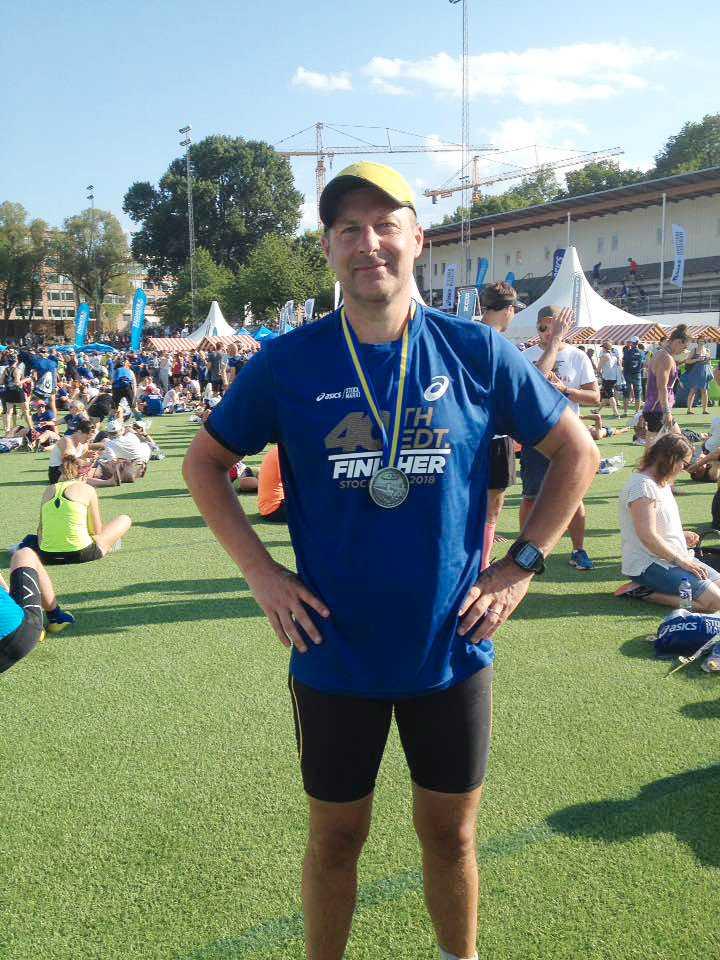 Thomas Hörnqvist sprang för långt på Stockholm marathon.