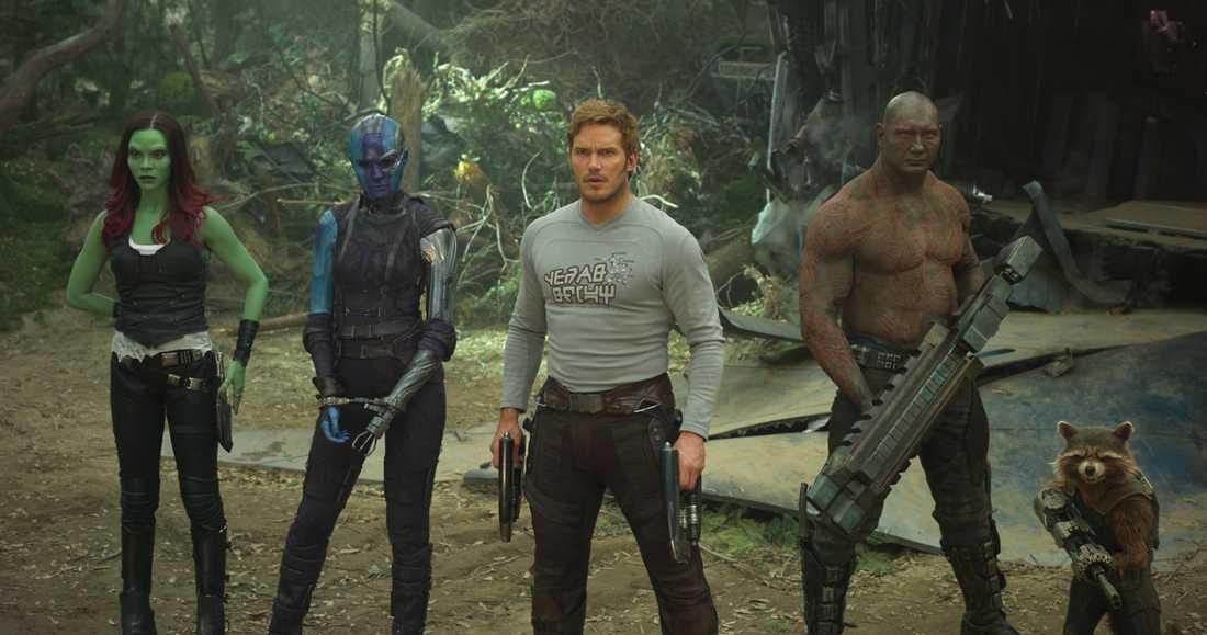 """Med """"Guardians of the galaxy 2"""" är Chris Pratt aktuell i tre filmserier."""