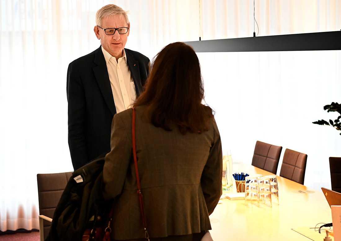 Carl Bildt på Folk och försvar idag