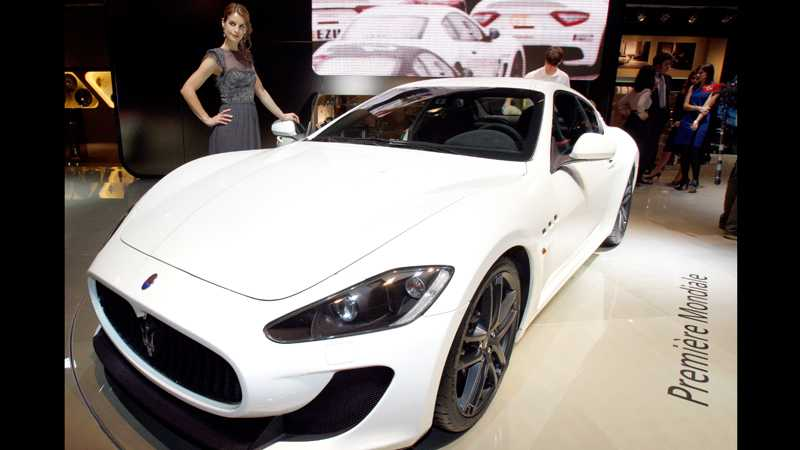Maserati Gran Turismo MC Stradale. Foto: AP