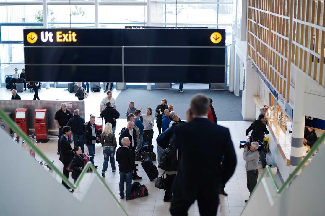 Flygtrafiken har tillfälligt stoppats på Stavanger flygplats i Norge. Arkivbild.