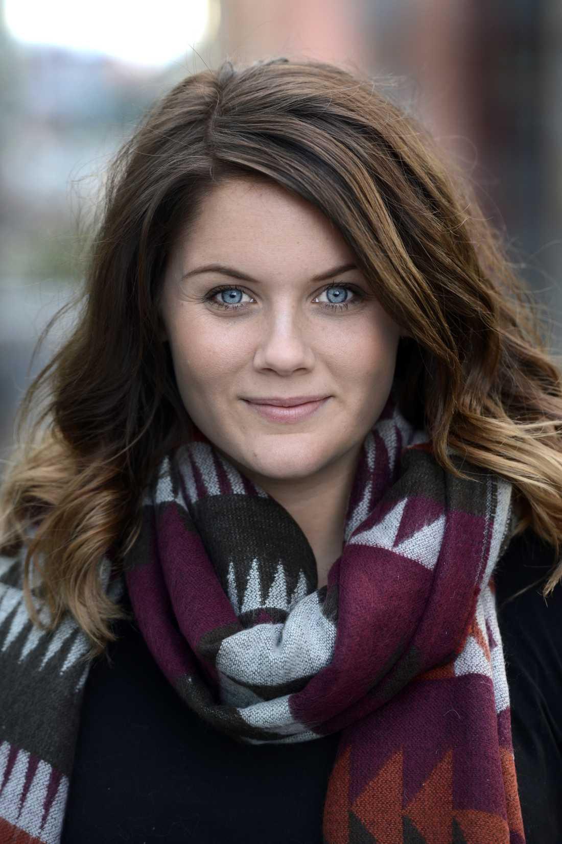 Julia Mjörnstedt, ordförande i Ung Cancer.