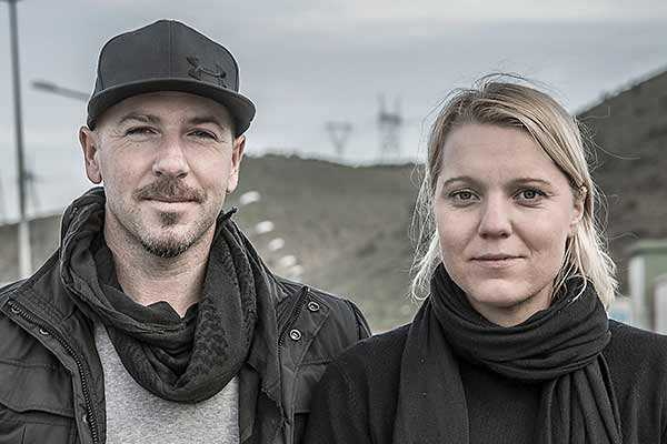Magnus Wennman och Carina Bergfeldt.