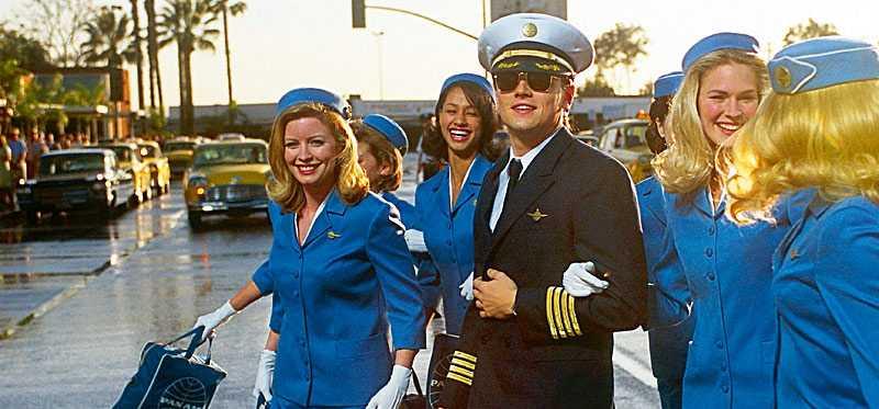 """Frank Abagnale, spelad av Leonardo DiCaprio, i filmen """"Catch me if you can"""" ljög en hel del för att få sina drömjobb. Till exempel om att han var pilot."""