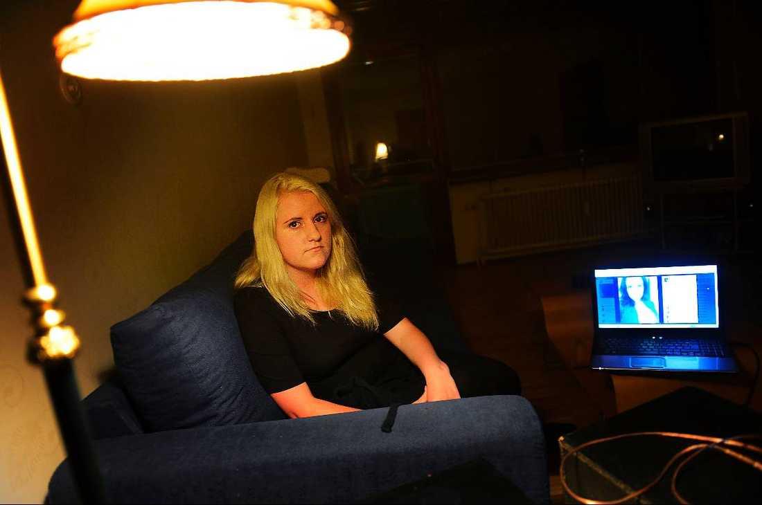 Gabriella Gardells syster Alexandra, 21.