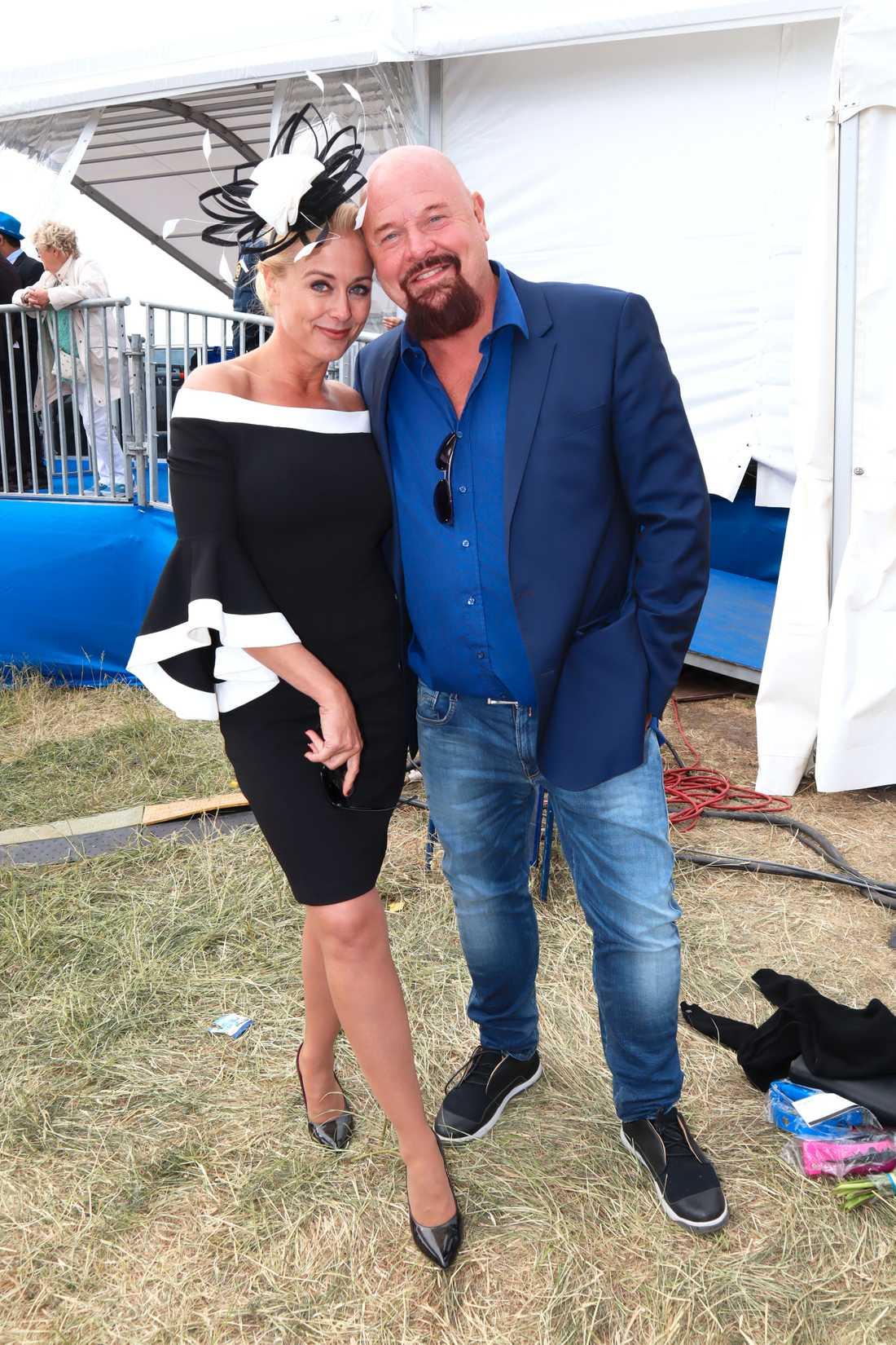 Johanna Lind och Anders Bagge.