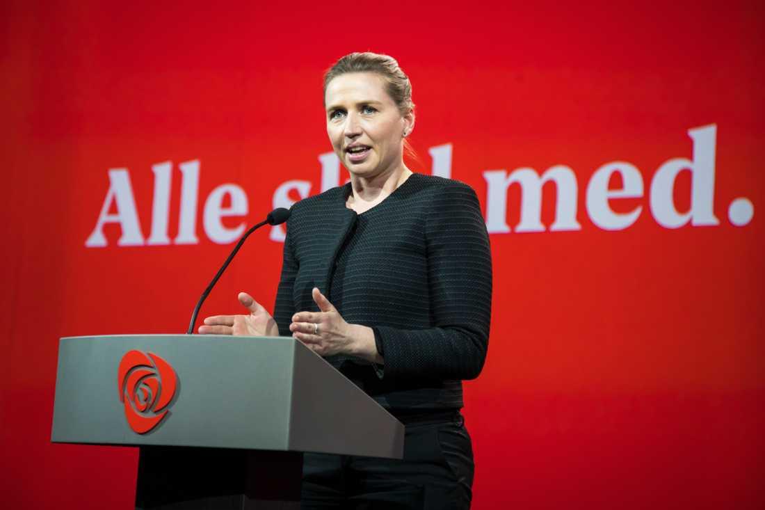 Mette Frederiksen (S) ser ut att bli Danmarks nästa statsminister.