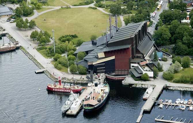 Drabbas om havsnivån stiger med två meter Vasamuséet, Stockholm.