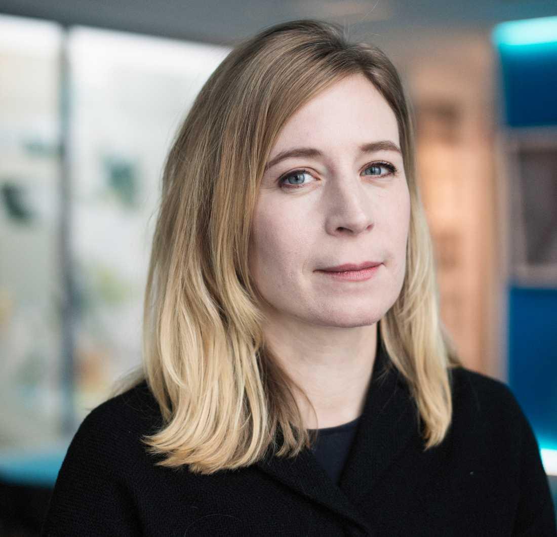 """""""Beskedet är extremt viktigt för journalistiken och demokratin"""", säger Karin Pettersson, director of public policy i Schibsted."""