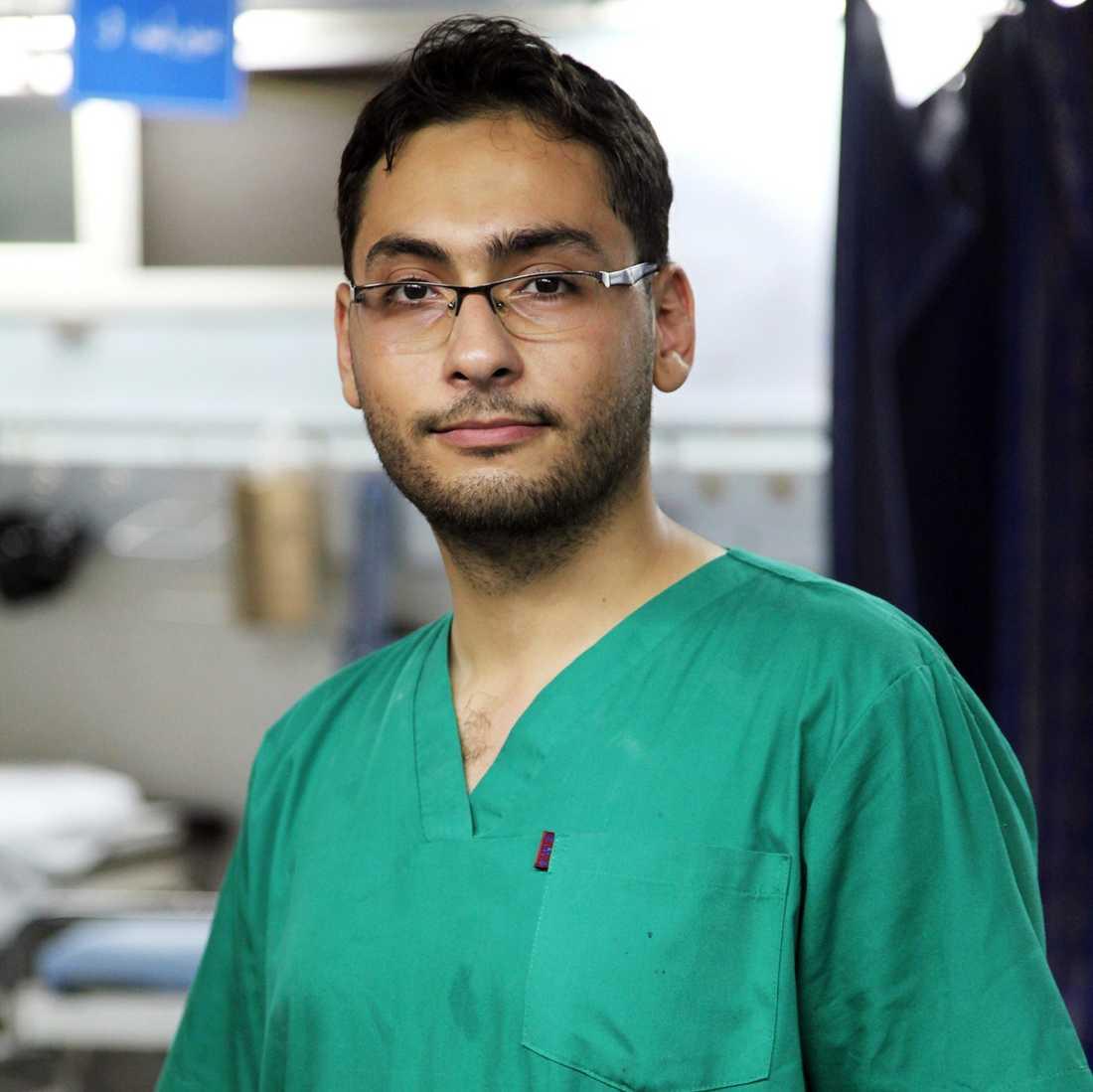 Läkaren Belal Dabour