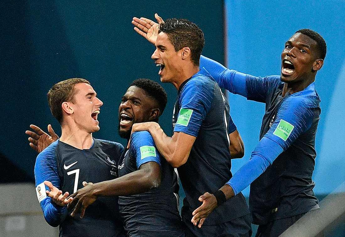 FAVORITEN. Det är 20 år sedan Frankrike vann sitt första VM-guld i fotboll. Oddsen talar för att det andra kommer i kväll.