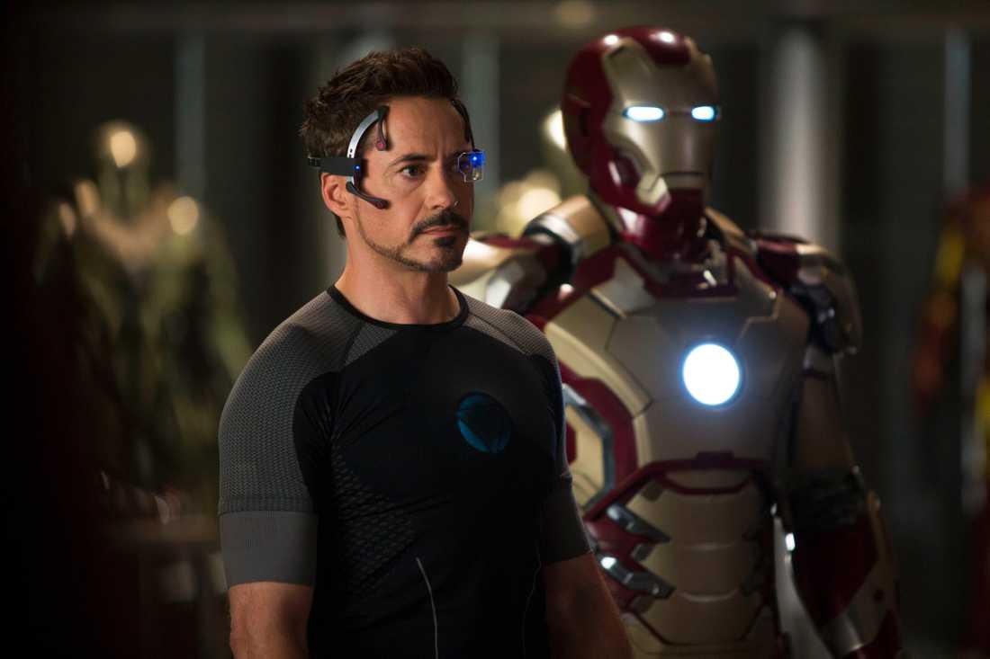"""Robert Downey JR. i """"Iron man""""."""