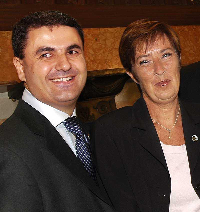 PARHÄSTAR Ibrahim Baylan blir Mona Sahlins nya partisekreterare.