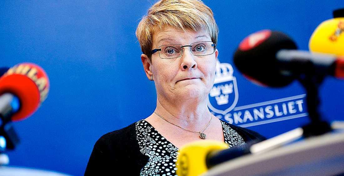 Förstört rykte Maud Olofsson blir nog inte ihågkommen som den bästa näringsministern.
